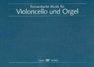 - Romantische Musik for Violoncello und Orgel - Sheet Music - di-arezzo.com