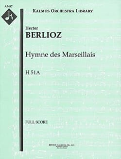 BERLIOZ - The Marseillaise - large score - Sheet Music - di-arezzo.co.uk