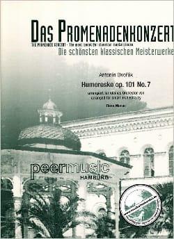 Humoreske op. 101 n° 7 - kleine Orch. - DVORAK - laflutedepan.com