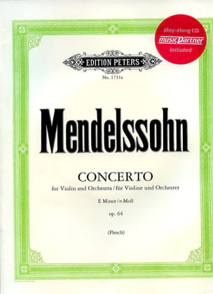 MENDELSSOHN - Violin Concerto op. 64 in E minor - Sheet Music - di-arezzo.co.uk