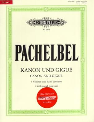 Johann Pachelbel - Kanon und Gigue - Sheet Music - di-arezzo.co.uk