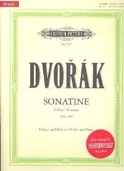 Sonatine Op. 100 - Antonin Dvorak - Partition - laflutedepan.com