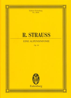 Richard Strauss - Eine Alpensinfonie op. 64 - Partitur - Sheet Music - di-arezzo.com