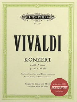 VIVALDI - Violin Concerto in A minor op. 3 n ° 6 RV 356 - Sheet Music - di-arezzo.co.uk