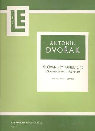 DVORAK - Slawischer Tanz op. 72 n° 10 - Partition - di-arezzo.fr
