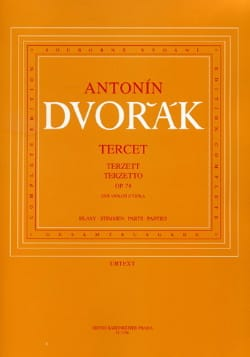 DVORAK - Terzetto op. 74 - 2 Violinen Viola - Stimmen - Sheet Music - di-arezzo.com