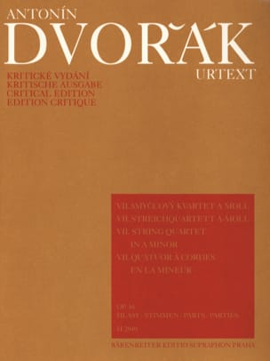 String quartet n° 7 in a minor op. 16 - Parts DVORAK laflutedepan