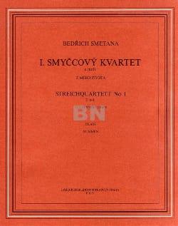 Streichquartett n° 1 –Stimmen - Bedrich Smetana - laflutedepan.com