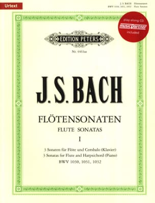 BACH - Flötensonaten Volume 1 - Partitura - di-arezzo.it