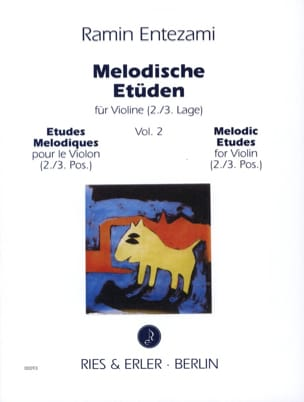 Ramin Entezami - Melodische Etüden - Volume 2 - Sheet Music - di-arezzo.co.uk