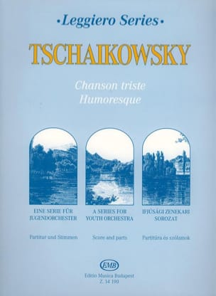 TCHAIKOVSKY - Chanson Triste / Humoresque - String orch. junior - Partition - di-arezzo.fr
