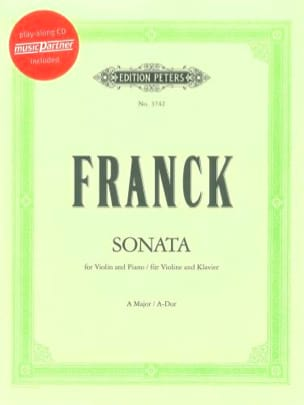 César Franck - Sonata in the Major - Sheet Music - di-arezzo.com