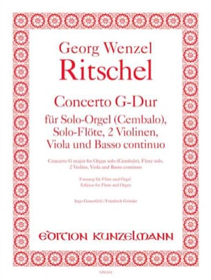 Concerto G-Dur - Flöte Orgel - laflutedepan.com