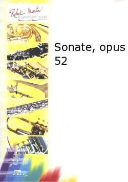 Louis Marischal - Sonate pour alto et piano op. 52 - Partition - di-arezzo.fr