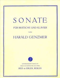 Harald Genzmer - Sonate - Partition - di-arezzo.fr