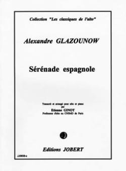 Alexandre Glazounov - Spanish serenade op. 20 - Sheet Music - di-arezzo.co.uk