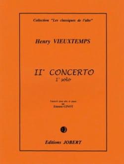 Henri Vieuxtemps - 1er Solo du Concerto n° 2 – Alto - Partition - di-arezzo.fr