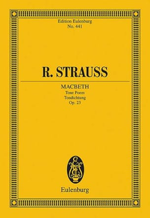 Richard Strauss - Macbeth, op. 23 - Partitura - di-arezzo.it