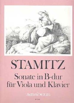 Carl Stamitz - Sonate in B-Dur – Viola und Klavier - Partition - di-arezzo.fr