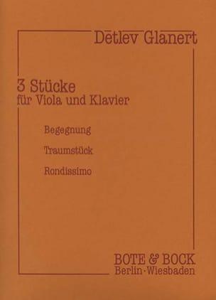 3 Stücke für Viola und Klavier - Detlev Glanert - laflutedepan.com