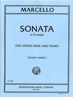 Sonate in D major - String Bass Benedetto Marcello laflutedepan
