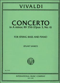 VIVALDI - Concerto in A minor op. 3 n ° 6 - String Bass - Sheet Music - di-arezzo.co.uk