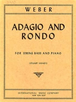 Carl Maria von Weber - Adagio and Rondo - 弦ベース - 楽譜 - di-arezzo.jp