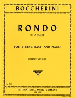 Rondo in D major - String bass BOCCHERINI Partition laflutedepan