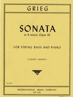 Sonata in A minor, op. 36 - String bass - laflutedepan.com