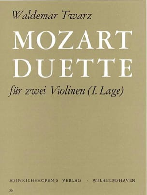 Mozart Wolfgang Amadeus / Twarz Waldemar - モーツァルトデュエット - 楽譜 - di-arezzo.jp