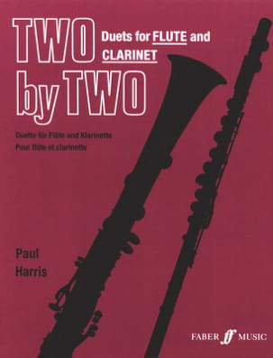 Two by Two – Flute clarinet - Paul Harris - laflutedepan.com