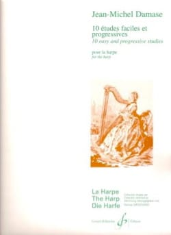 Jean-Michel Damase - 10 Easy and Progressive Studies - Sheet Music - di-arezzo.co.uk