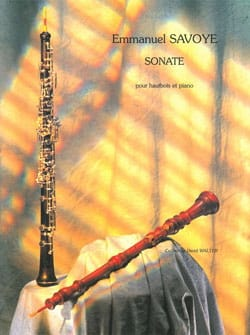 Emmanuel Savoye - Sonata for Oboe and Piano - Sheet Music - di-arezzo.com