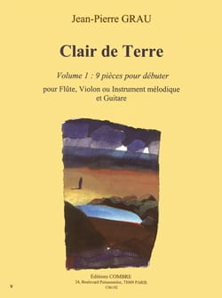 Jean-Pierre Grau - Clear Earth - Volume 1 - Sheet Music - di-arezzo.com