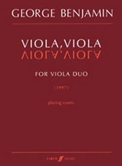 George Benjamin - Viola, small viola - Sheet Music - di-arezzo.co.uk
