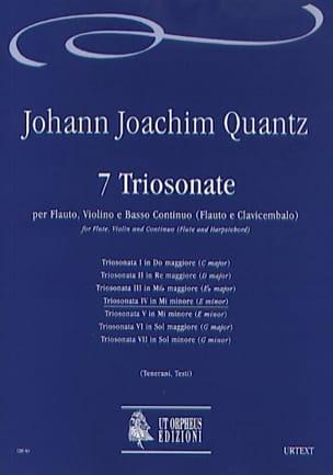 Johann Joachim Quantz - Triosonata n ° 4 in mi minore - Flauto, Violino e bc - Sheet Music - di-arezzo.com