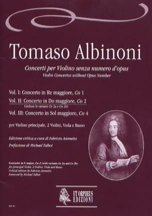 Concerto En Do Maj. - Co2 - Vol.2 - ALBINONI - laflutedepan.com