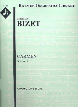 BIZET - Carmen Suite n ° 1 - Score - Partition - di-arezzo.com