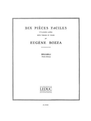 Eugène Bozza - Eili, Eili - Partition - di-arezzo.fr