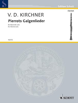 Pierrots Galgenlieder - Volker David Kirchner - laflutedepan.com
