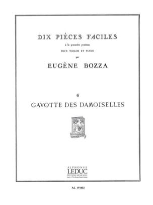 Eugène Bozza - Gavotte des demoiselles - Partition - di-arezzo.fr