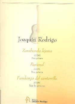 Joaquín Rodrigo - Zarabanda lejana - Pastoral - Fandango del ventorrillo - Partition - di-arezzo.fr