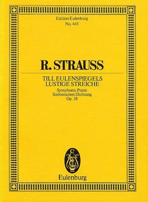 Richard Strauss - Till Eulenspiegels Lustige Streiche, Opus 28 - Sheet Music - di-arezzo.co.uk