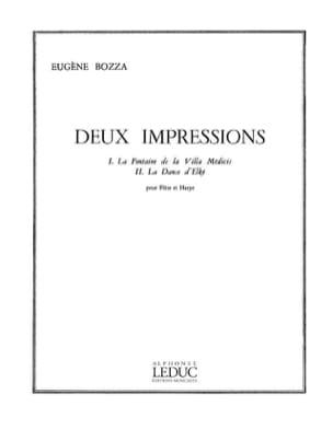 Eugène Bozza - 2 Impressions - Partition - di-arezzo.fr