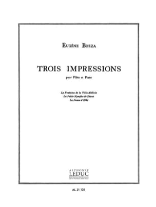 Eugène Bozza - 3 Impressions - Sheet Music - di-arezzo.co.uk