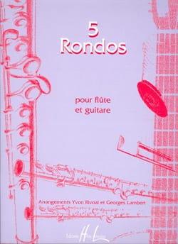 Rivoal Yvon / Lambert Georges - 5 Rondos - Partition - di-arezzo.fr