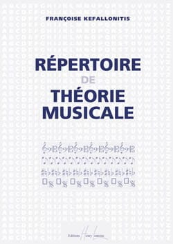 Françoise Kefallonitis - Directory of musical theory - Partition - di-arezzo.co.uk