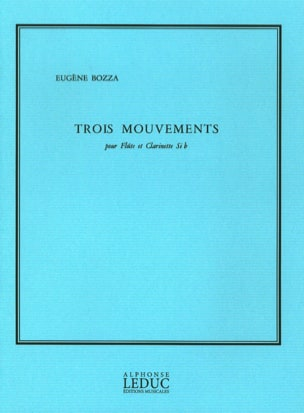Eugène Bozza - 3 Mouvements - Partition - di-arezzo.fr