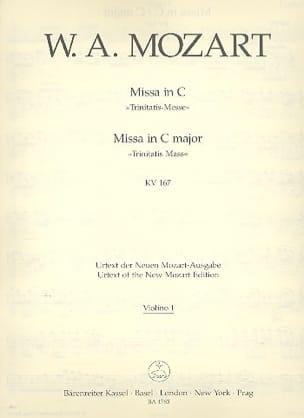 MOZART - Missa in C-Dur KV 167 Trinitatis - Matériel Complet - Partition - di-arezzo.fr