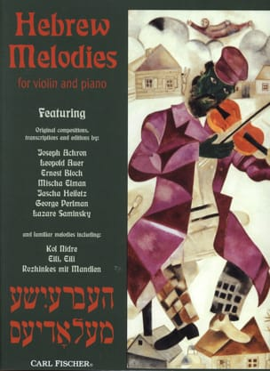 Hebrew Melodies laflutedepan